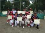 川越市長杯(夏季大会) 健闘の銅メダルと敢闘賞